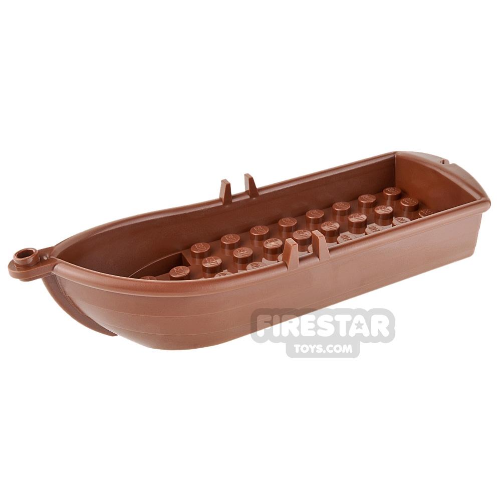 LEGO - Rowing Boat - Reddish Brown