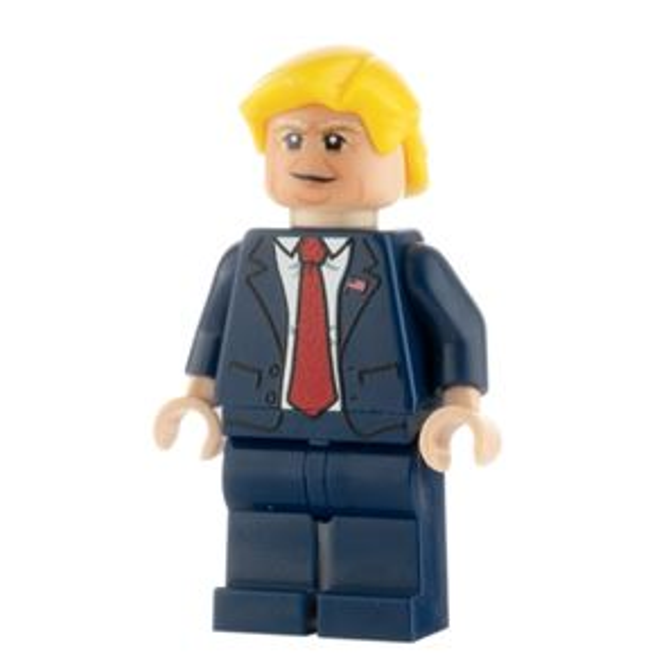 Custom Design Minifigure Donald Trump