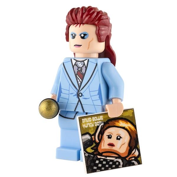 Custom Design Mini Figure - David Bowie - The Starman