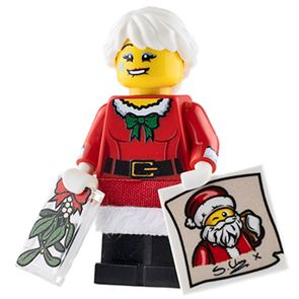 Custom Design Minifigure Mary Christmas