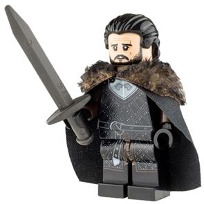 Custom Design Minifigure The King in the North