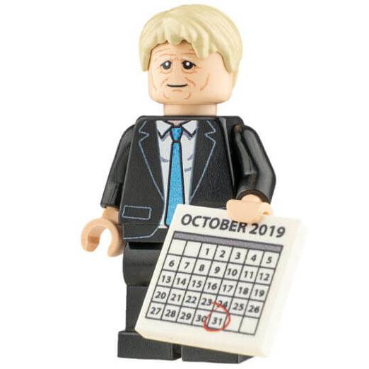 Custom Design Mini Figure - Boris Johnson