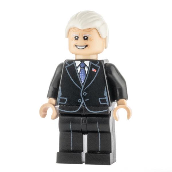 Custom Design Minifigure Joe Biden