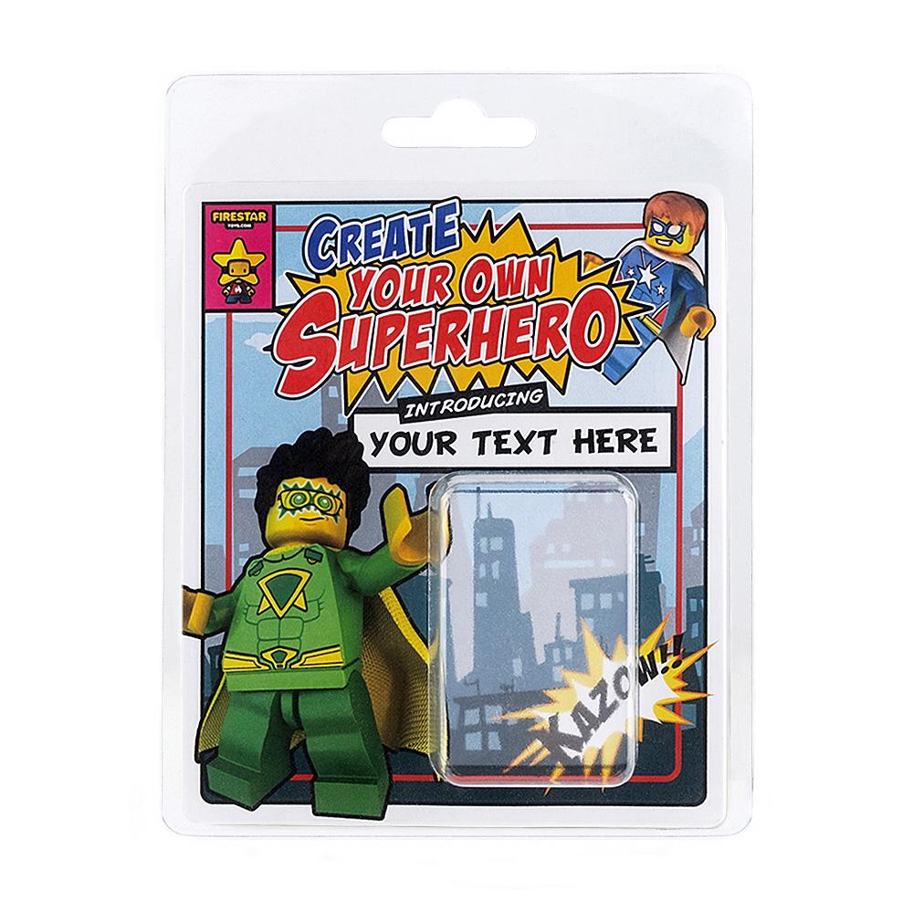Personalised Minifigure Packaging - Superhero