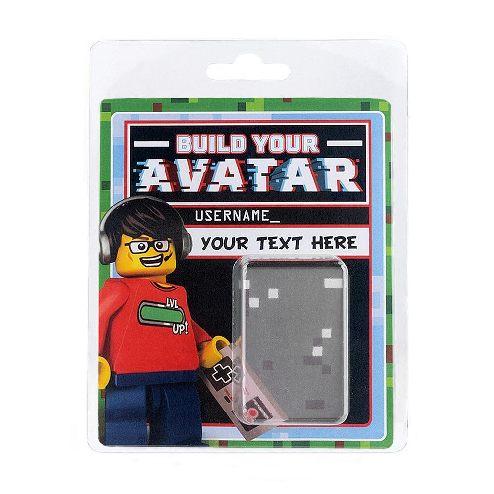 Personalised Minifigure Packaging - Gamer Avatar