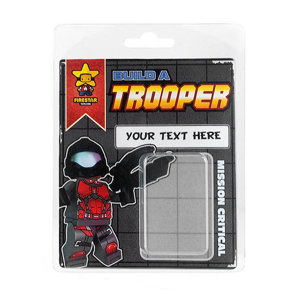 Personalised Minifigure Packaging - Trooper