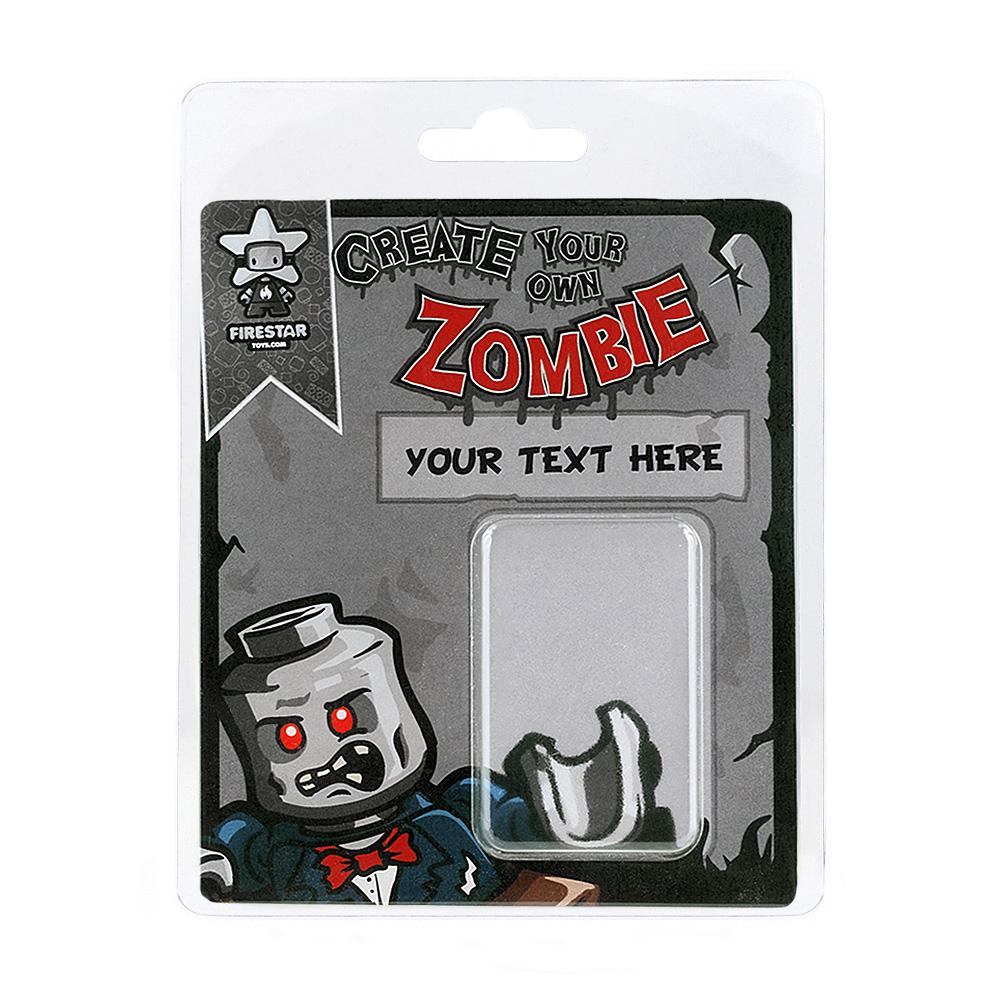 Personalised Minifigure Packaging - Zombie