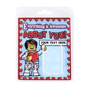 Personalised Minifigure Packaging You're Awesome