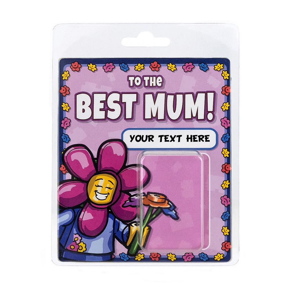 Personalised Minifigure Packaging Best Mum