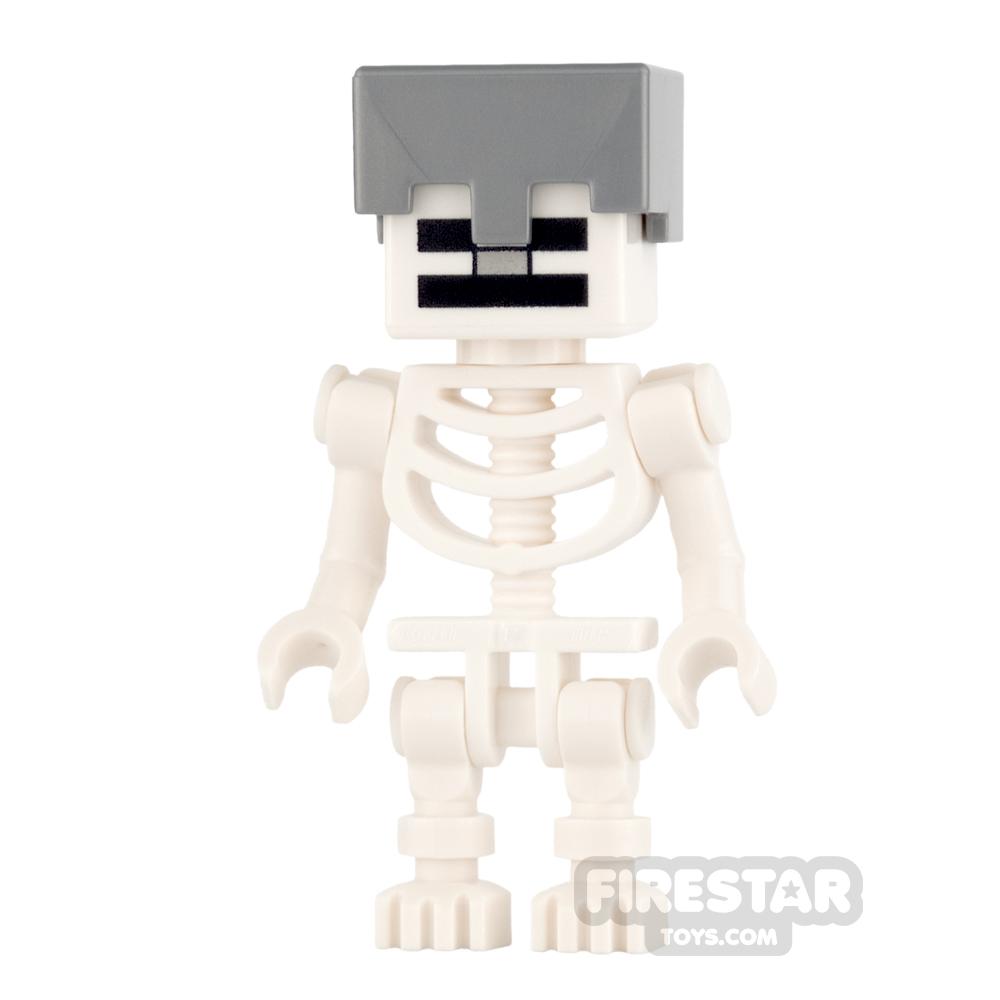 LEGO Minecraft Mini Figure - Skeleton with Helmet