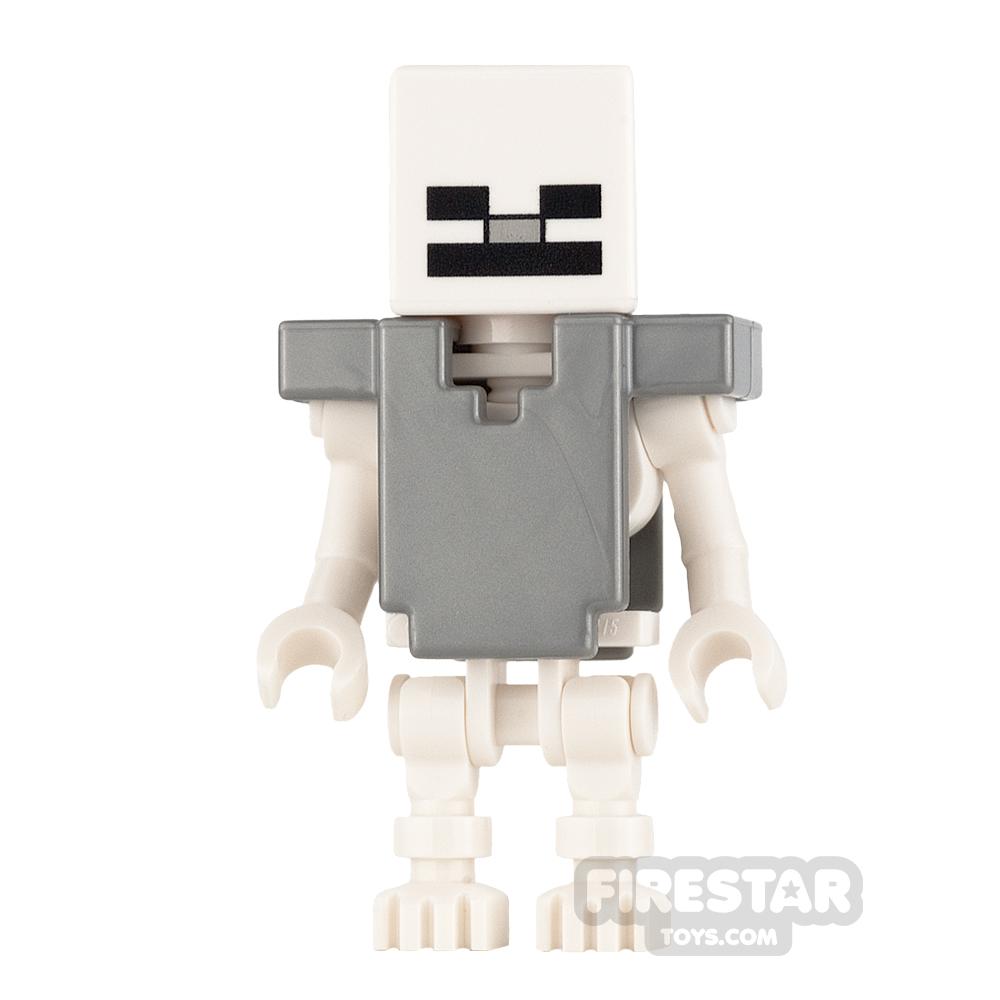 LEGO Minecraft Mini Figure - Skeleton with Armour