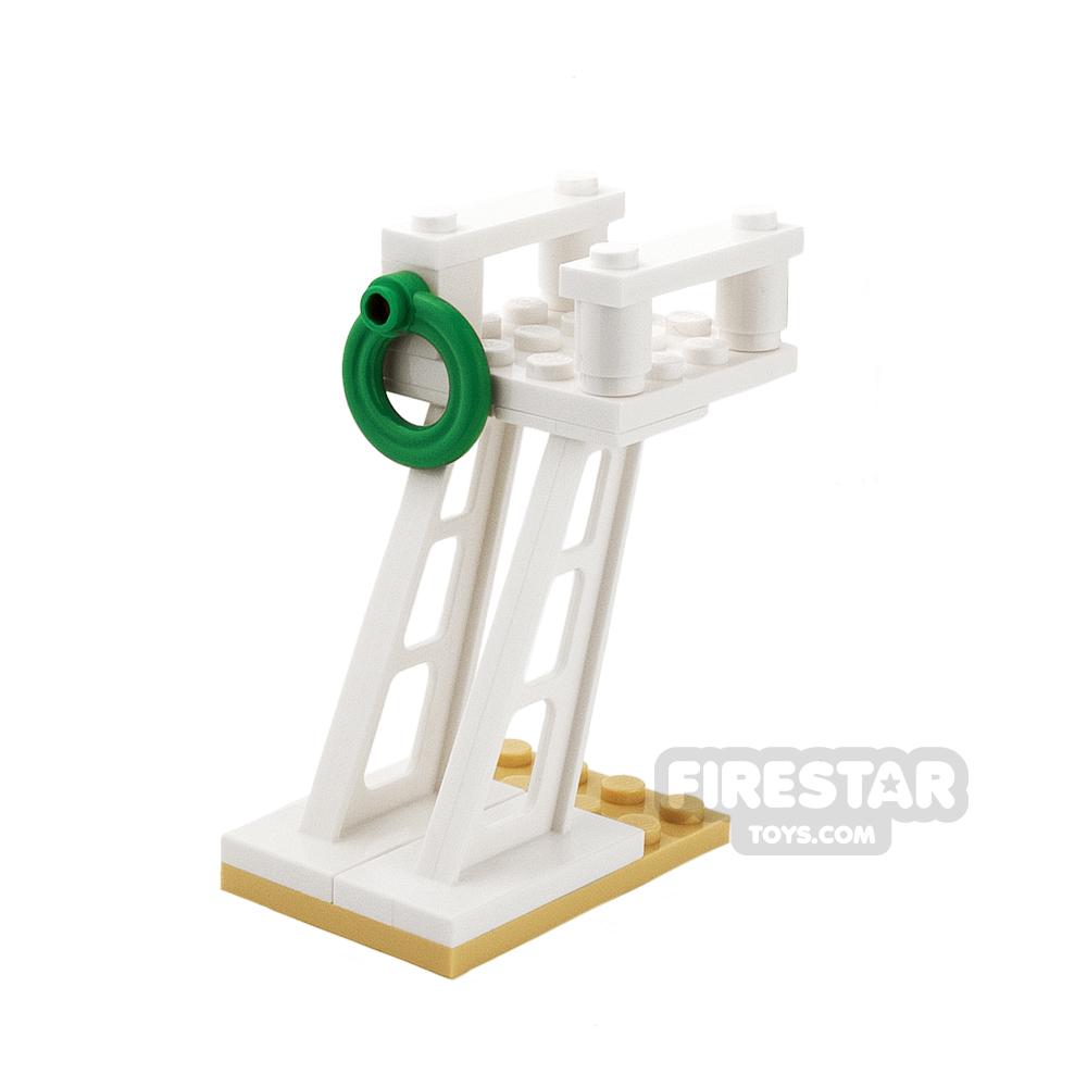 Custom Mini Set - Lifeguard Tower