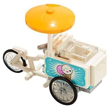 Custom Mini Set Ice Cream Bike