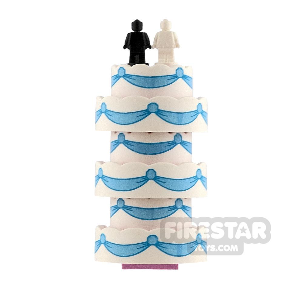 Custom Mini Set Wedding Cake