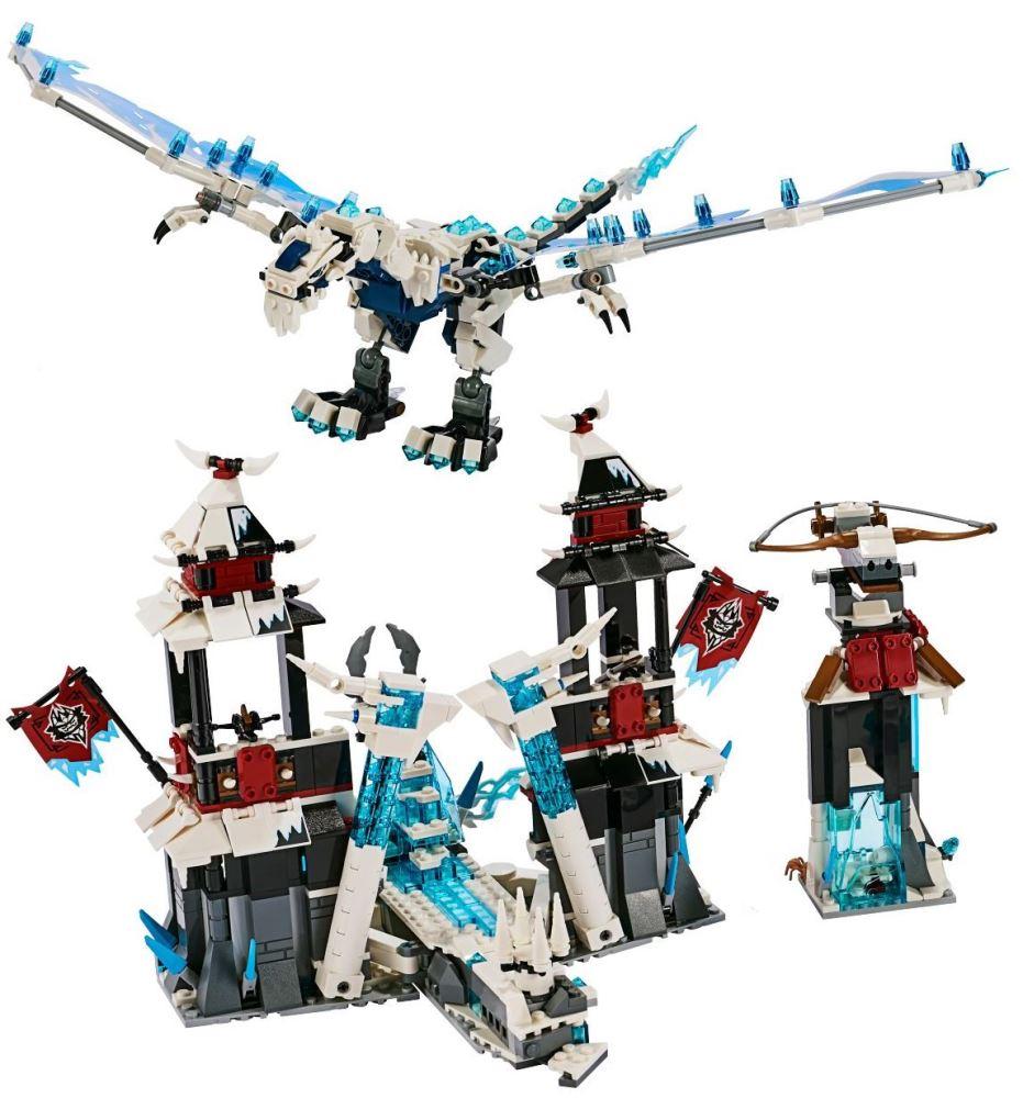 Custom Mini Set Ninjago Forsaken Castle