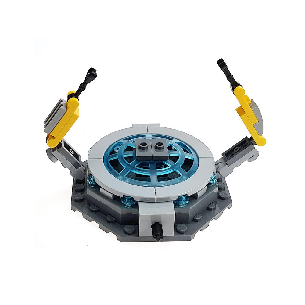 Custom Mini Set Iron Man Rotating Podium
