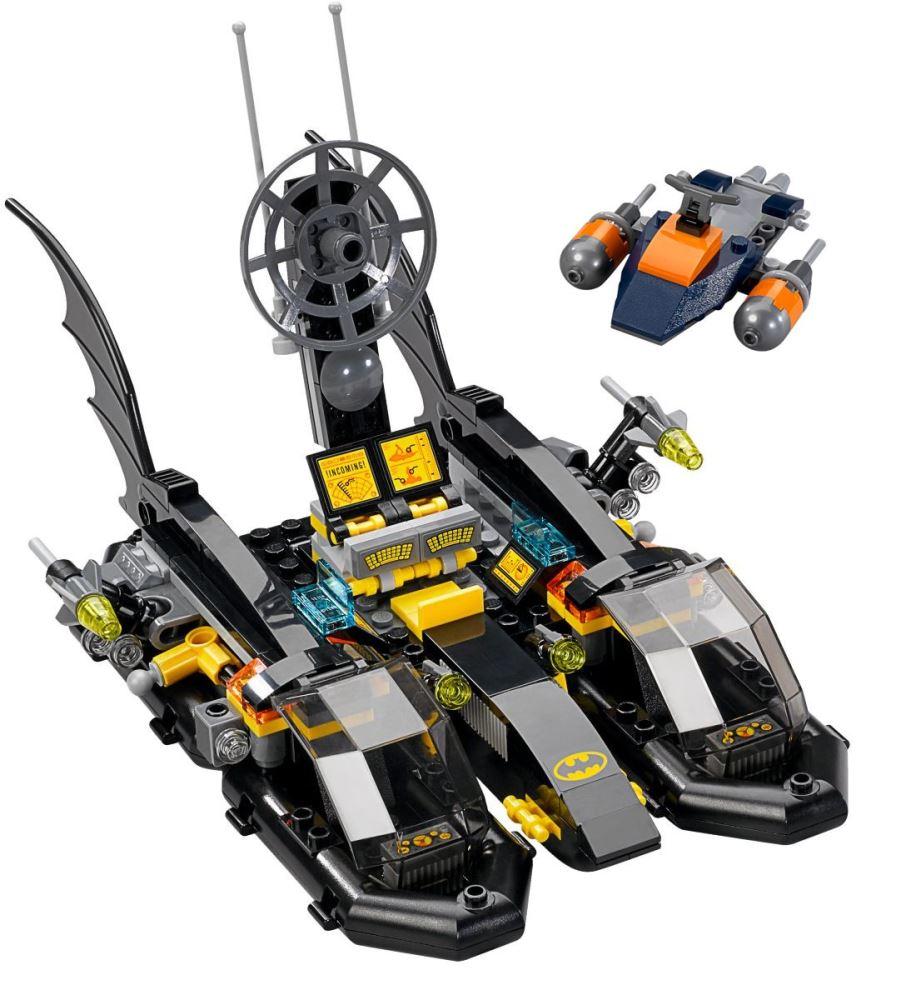 Custom Mini Set Superheroes Batboat