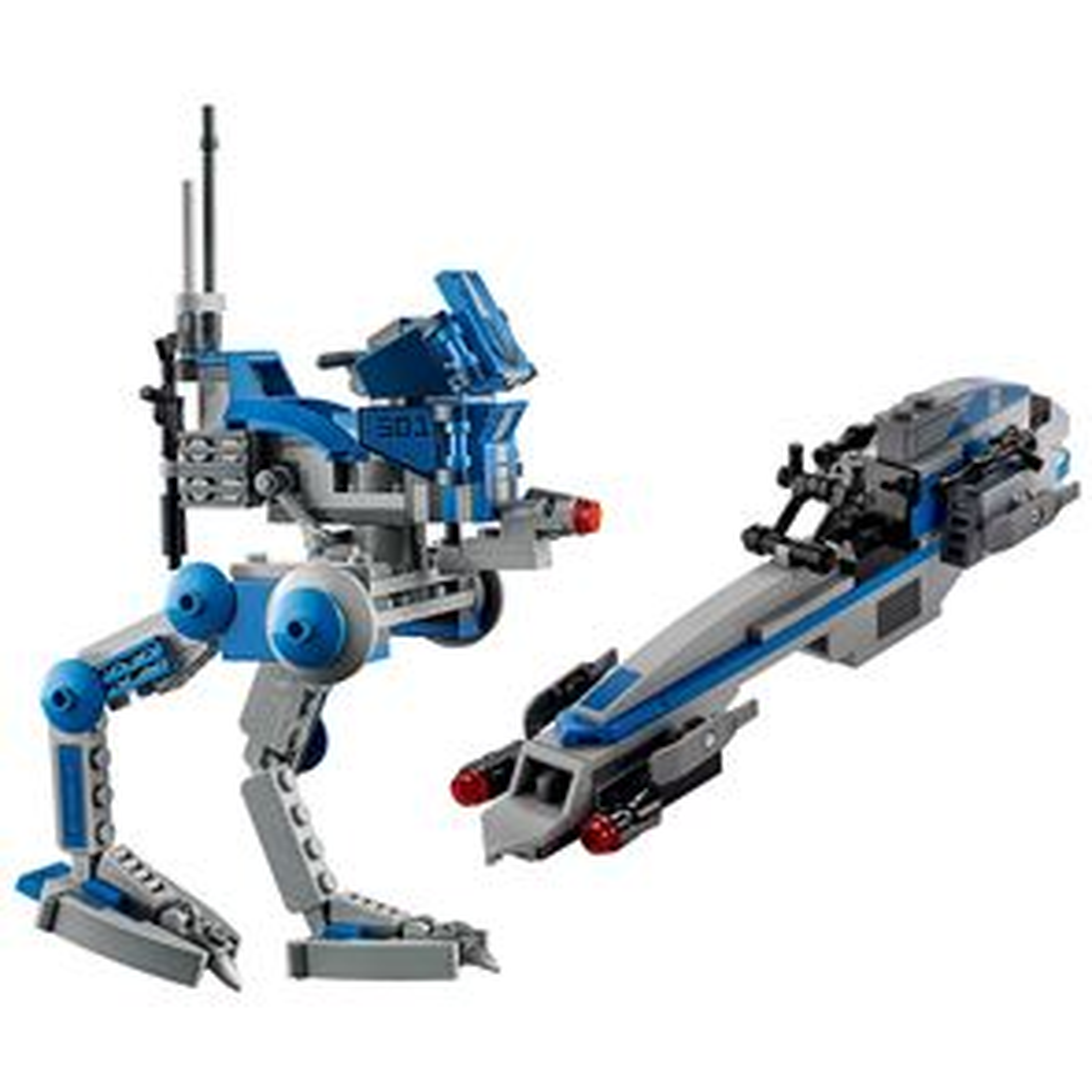 Custom Mini Set Star Wars Barc Speeder & Walker