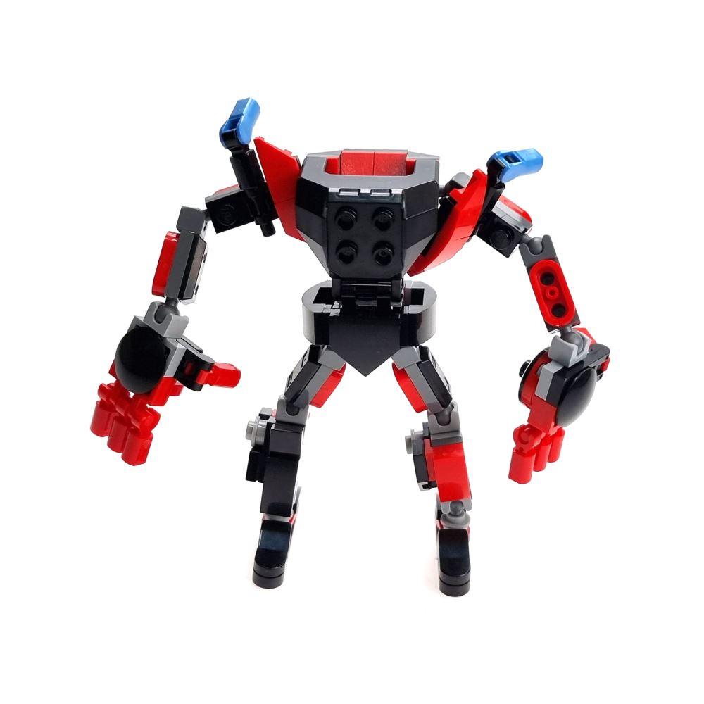 Custom Mini Set Superheroes Minifigure Mech Armour