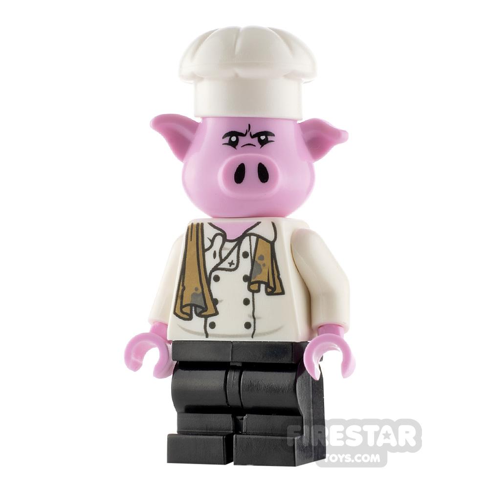 LEGO Monkie Kid Minifigure Pigsy Chef Jacket
