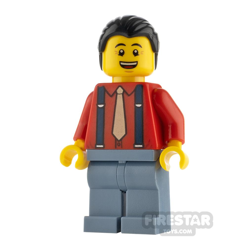 LEGO Monkie Kid Minifigure Uncle Qiao