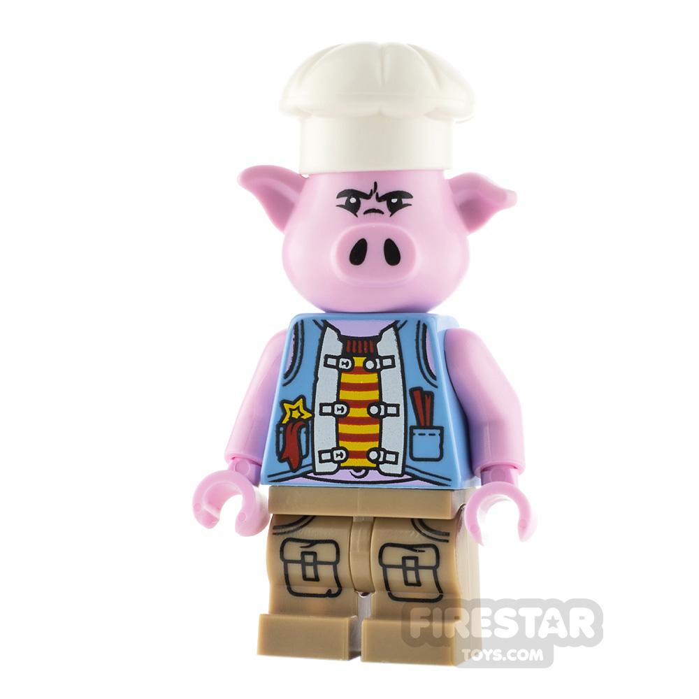 LEGO Monkie Kid Minifigure Pigsy Blue Vest