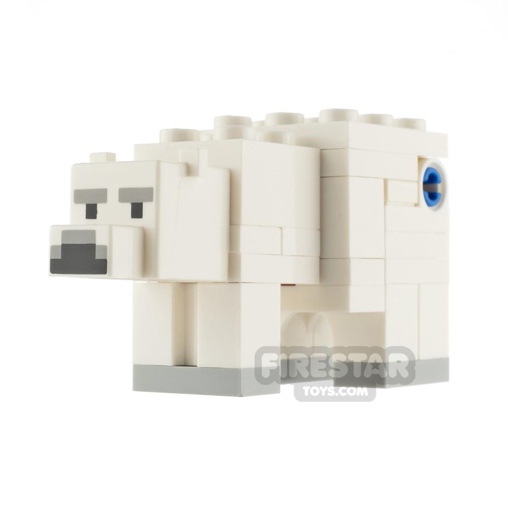LEGO Minecraft Minifigure Polar Bear
