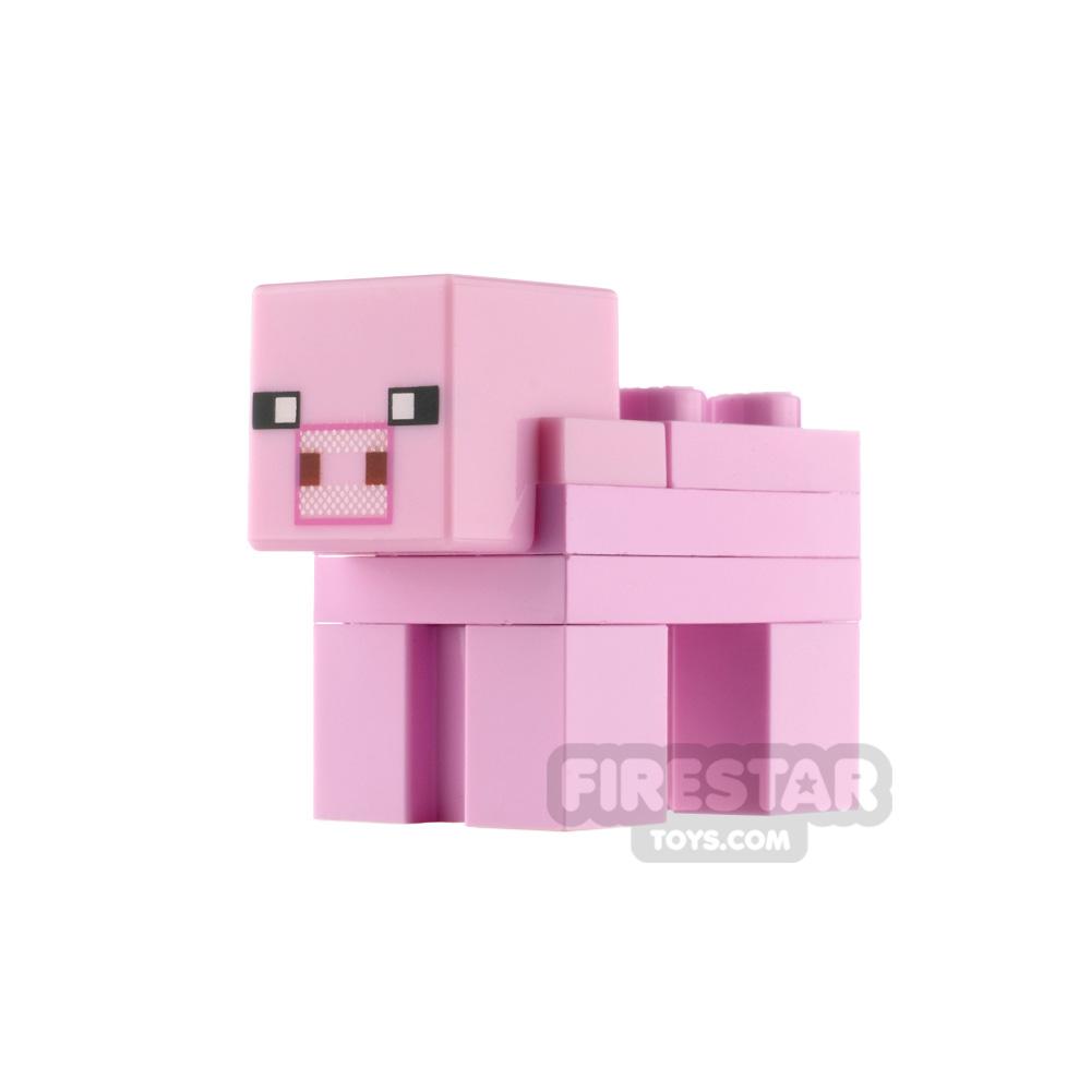 LEGO Minecraft Minifigure Pig