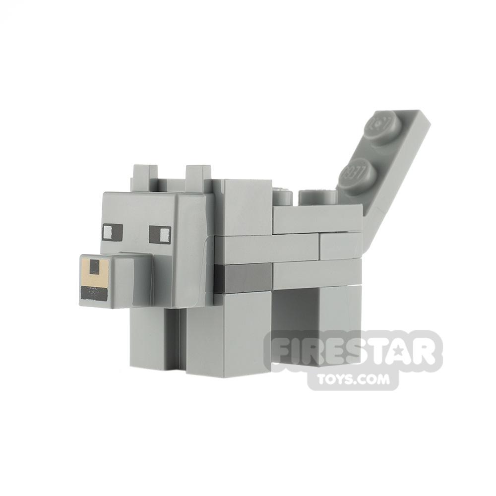 LEGO Minecraft Minifigure Wolf
