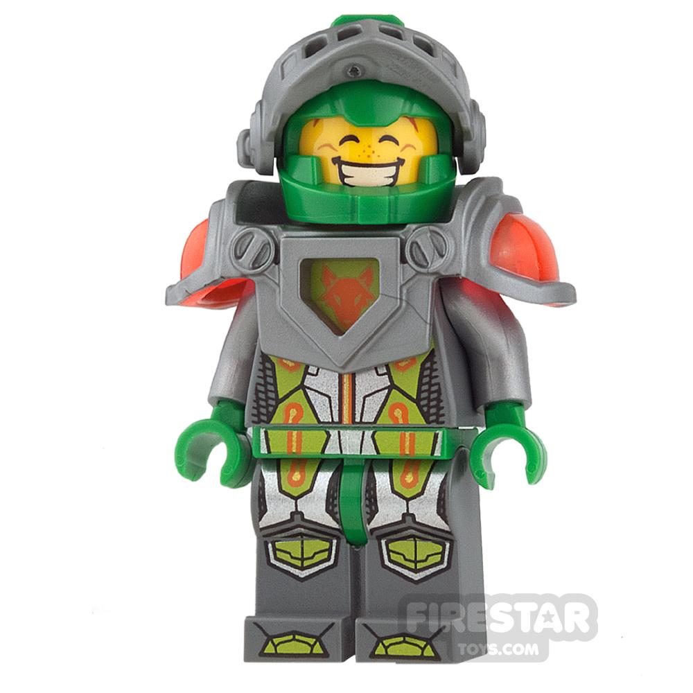 LEGO Nexo Knights Mini Figure - Aaron -  Flat Silver Visor