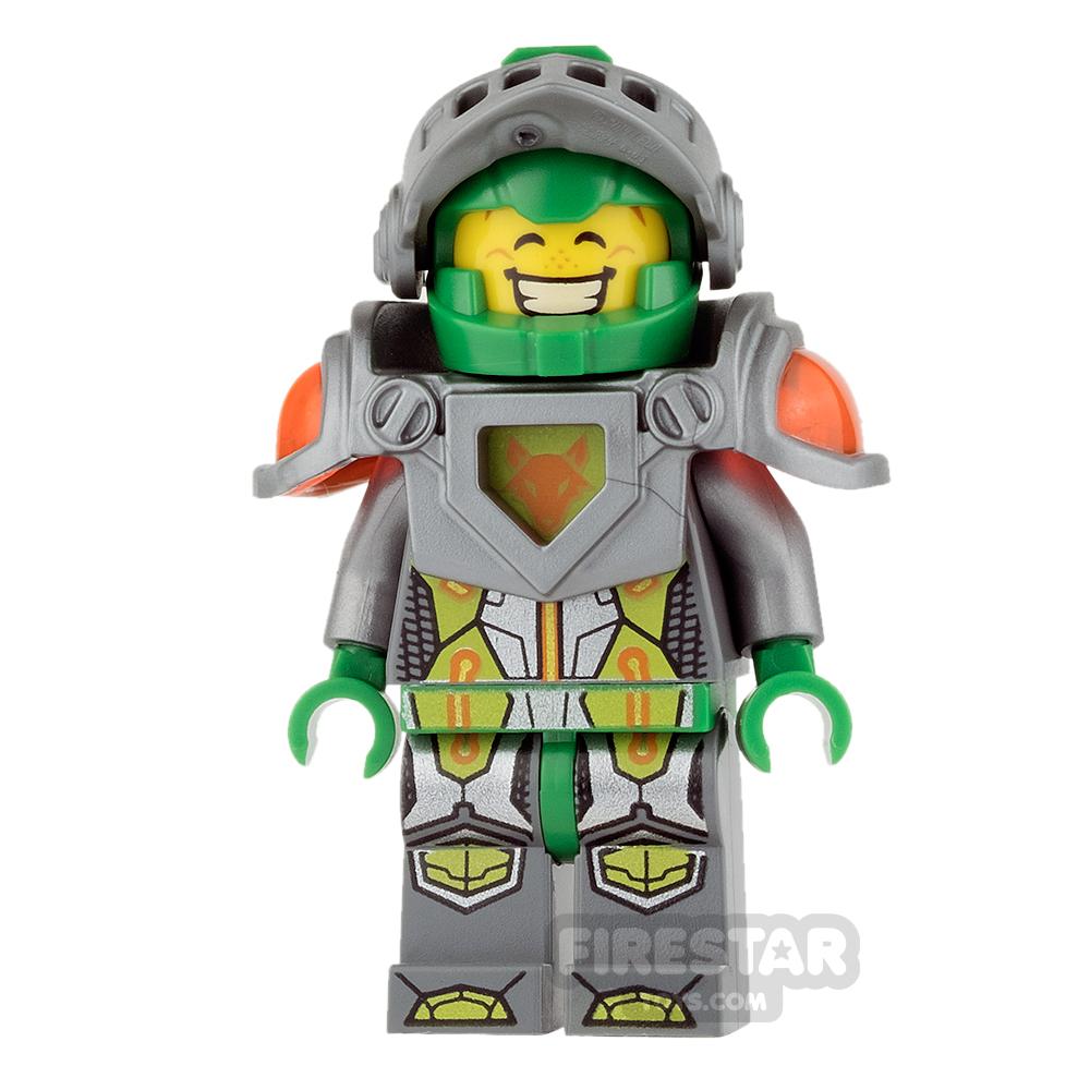 LEGO Nexo Knights Mini Figure - Aaron - Flat Silver Visor, Clip on Back