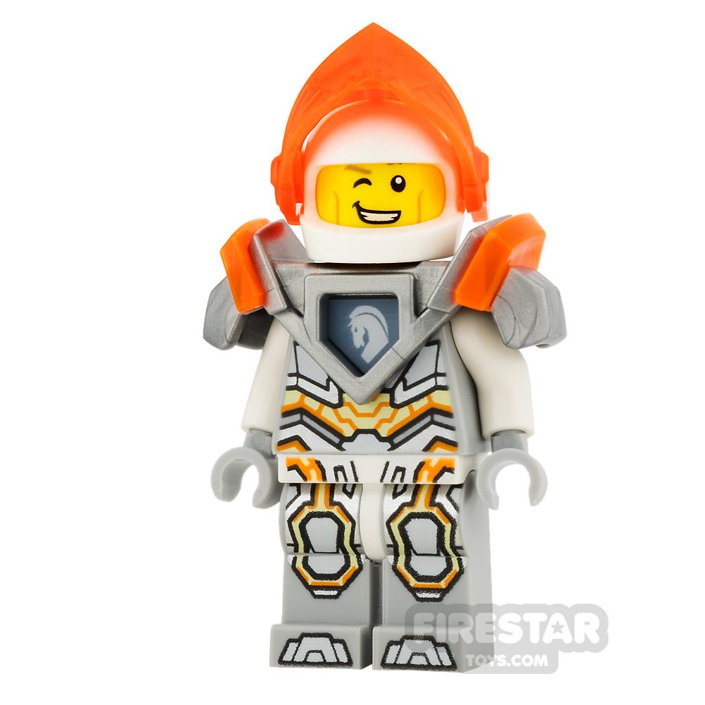 LEGO Nexo Knights Mini Figure - Lance - Trans Neon-Orange Visor