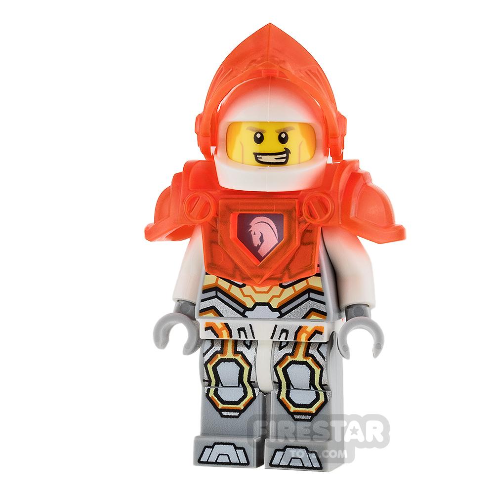 LEGO Nexo Knights Mini Figure - Lance - Trans Neon-Orange Armour