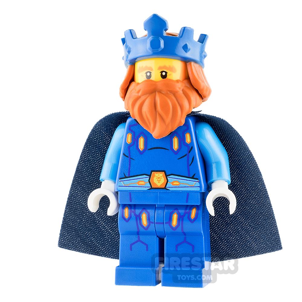 LEGO Nexo Knights Mini Figure - King Halbert - Blue Crown and Robes