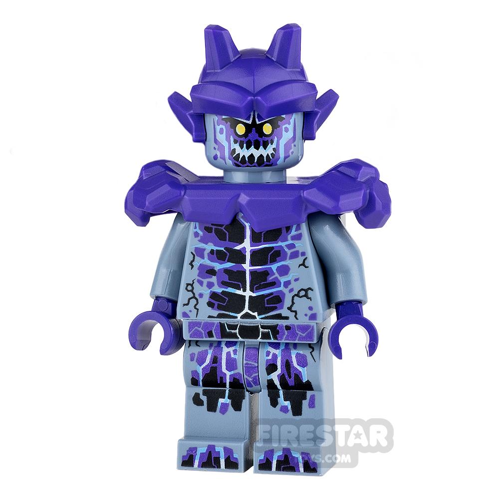 LEGO Nexo Knights Mini Figure - Stone Stomper - Dark Purple Markings and Shoulder Armour