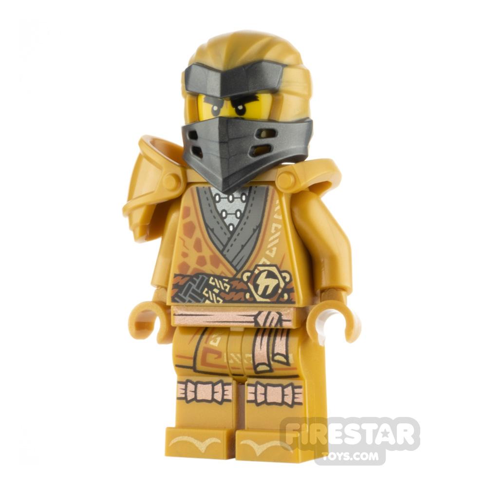 LEGO Ninjago Minifigure Cole Legacy Gold Robe