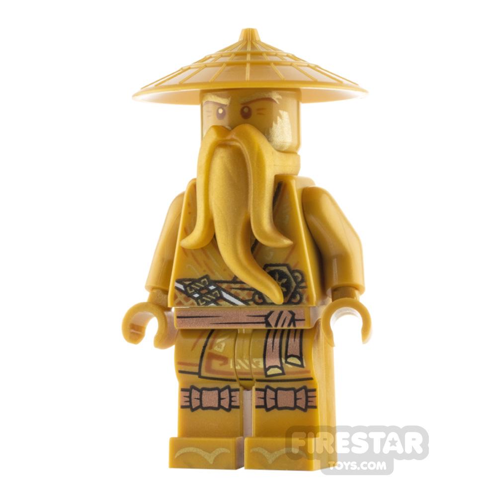 LEGO Ninjago Minifigure Sensei Wu Legacy Gold Robe