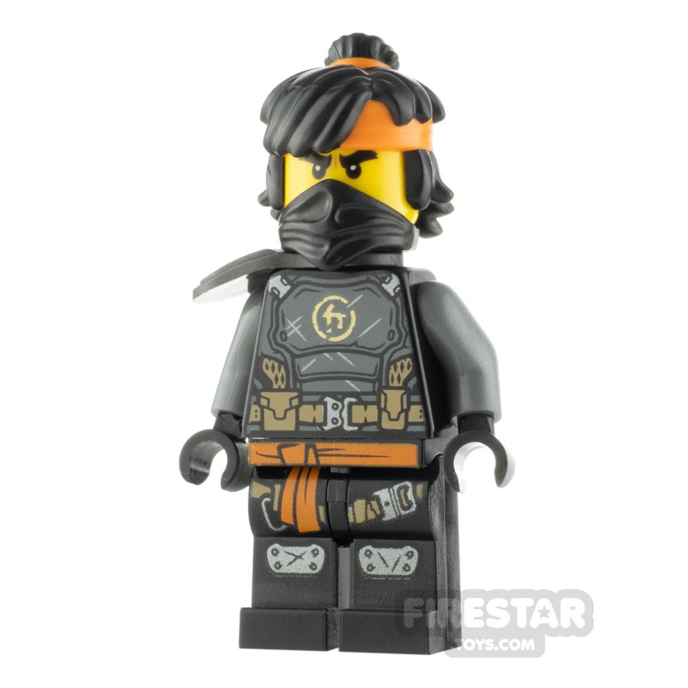 LEGO Ninjago Minifigure Cole The Island Mask and Hair