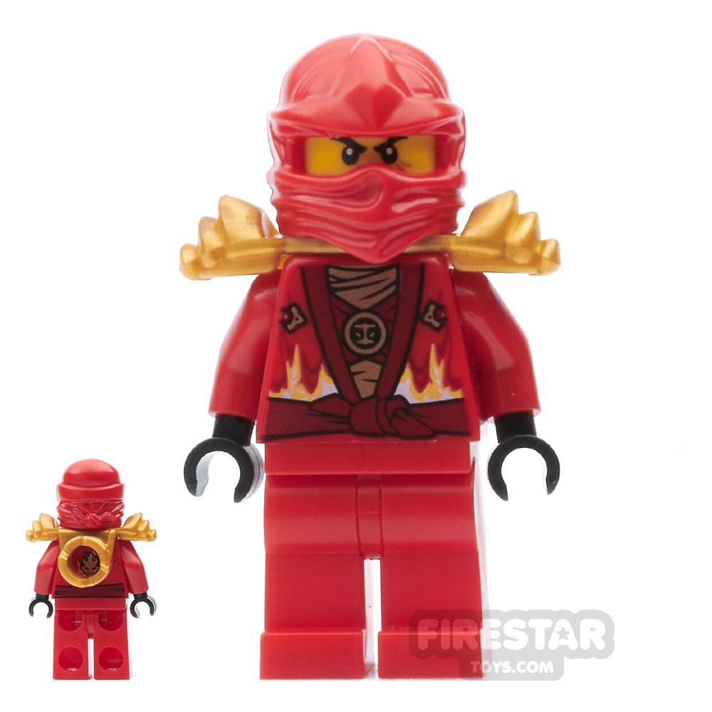LEGO Ninjago Mini Figure - Kai Rebooted with Armour