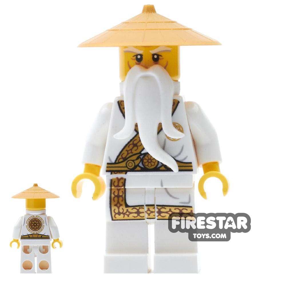 LEGO Ninjago Mini Figure - Sensei Wu - Gold Trimmed Outfit