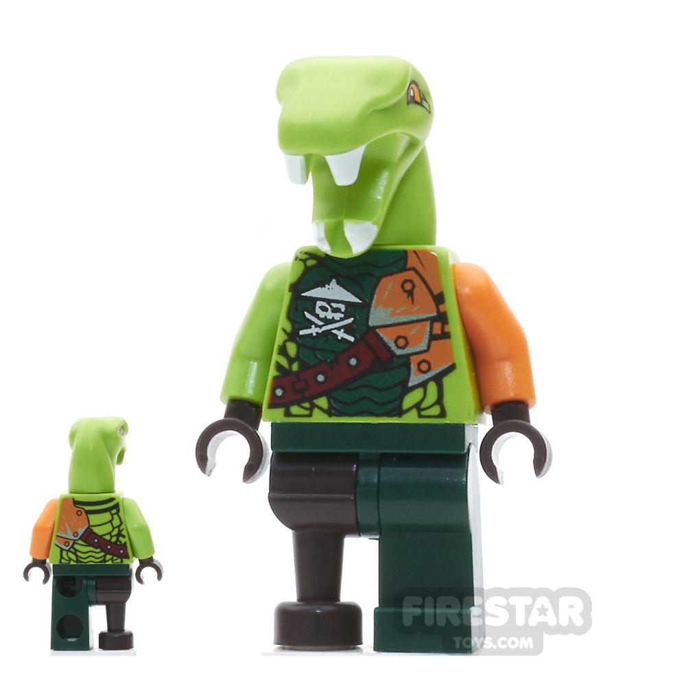 LEGO Ninjago Mini Figure - Clancee - Epaulettes