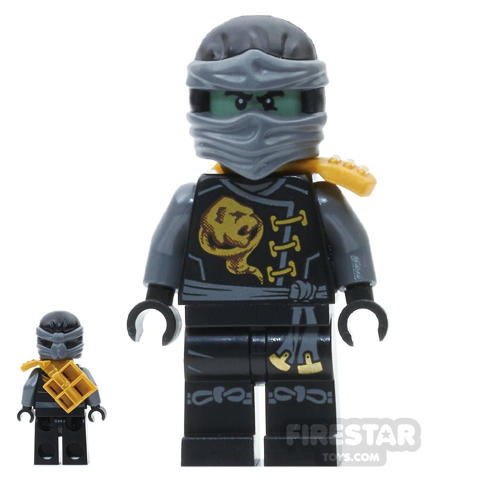 LEGO Ninjago Mini Figure - Cole - Skybound, Ghost