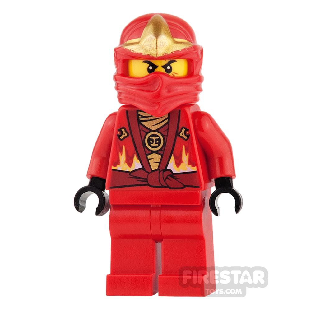LEGO Ninjago Mini Figure - Kai - Rebooted with ZX Hood