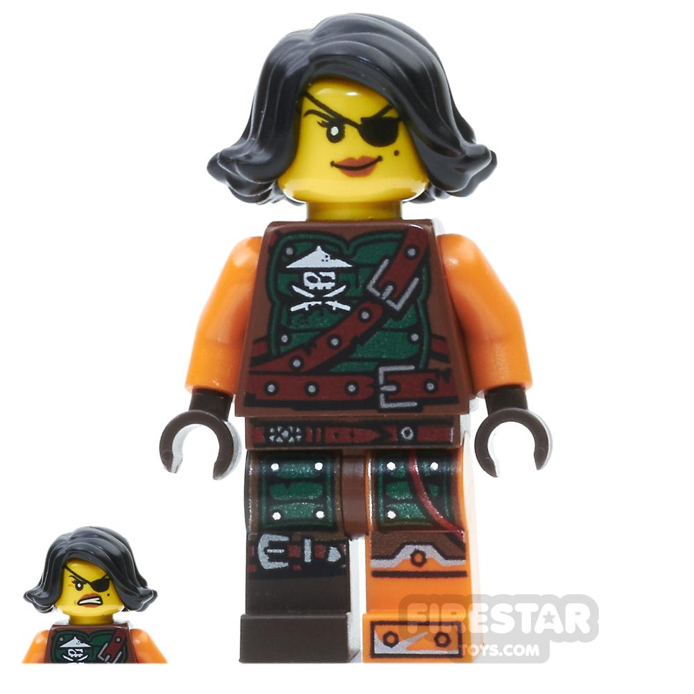 LEGO Ninjago Mini Figure - Cyren - Belt Outfit