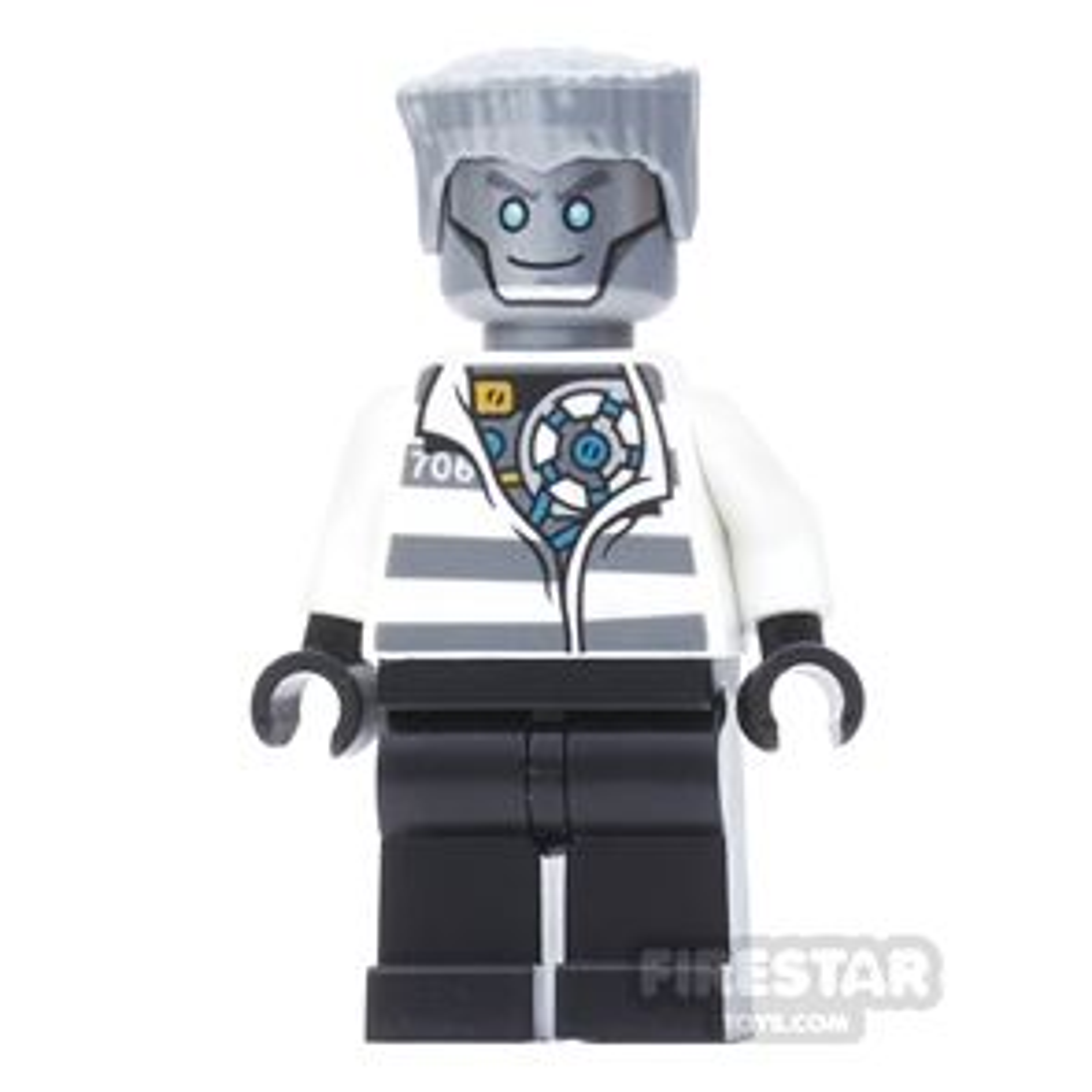 LEGO Ninjago Mini Figure - Zane - Prison Outfit