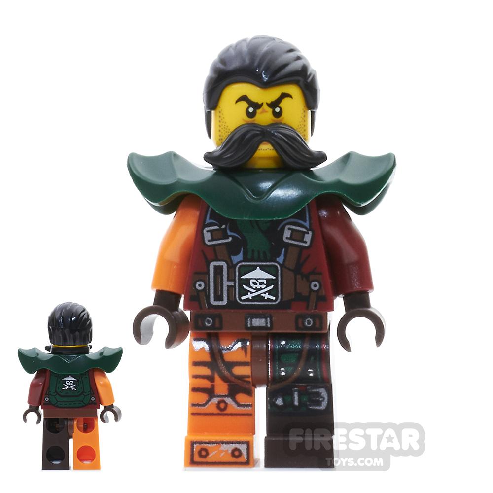 LEGO Ninjago Mini Figure - Flintlocke - Armour