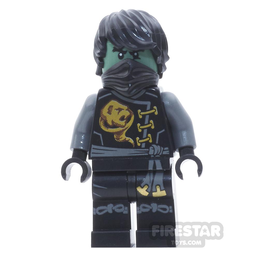 LEGO Ninjago Mini Figure - Cole - Skybound, Ghost, with Hair