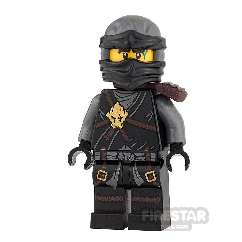 LEGO Ninjago Mini Figure - Cole - Scabbard