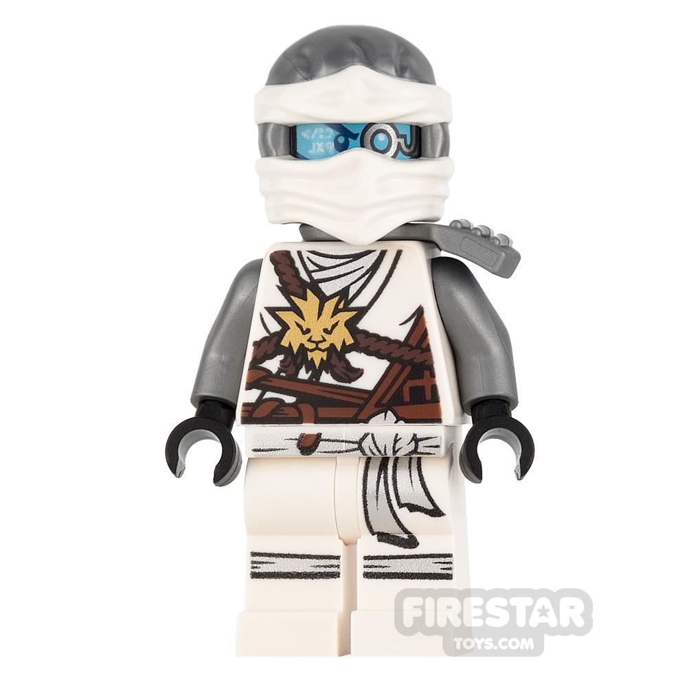 LEGO Ninjago Mini Figure - Zane - Gold Medallion and Scabbard
