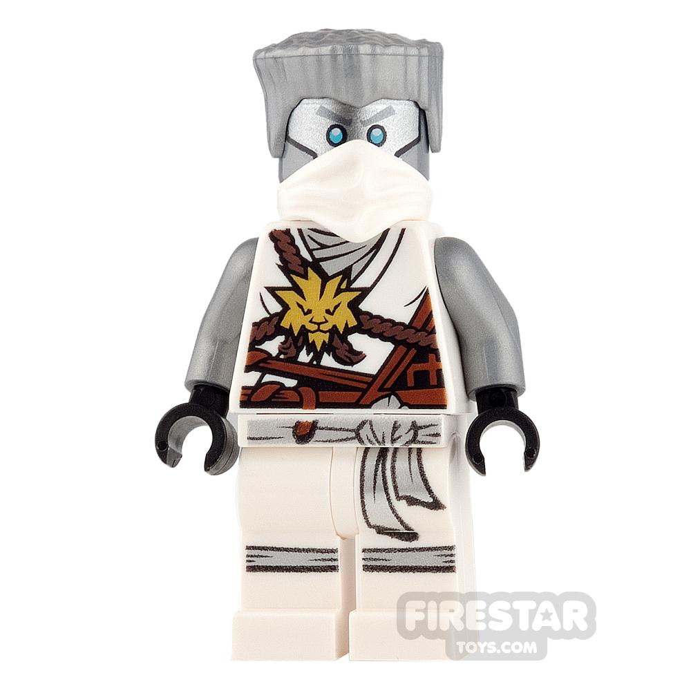 LEGO Ninjago Mini Figure - Zane - Gold Medallion